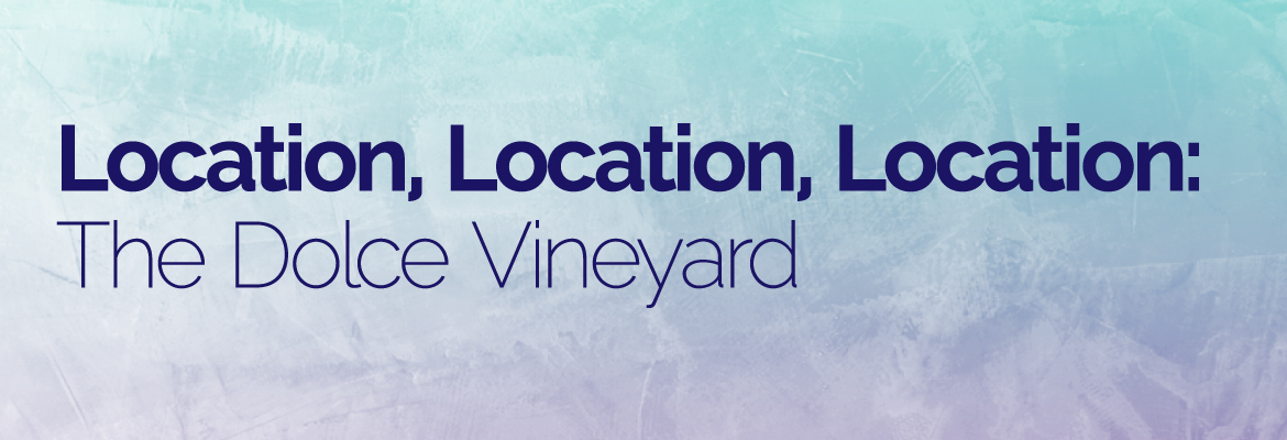 Location, Location, Location: The Dolce Vineyard